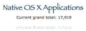 Native OS X Apps