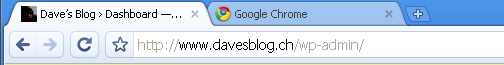 Dave's Blog › Dashboard — WordPress - Google Chrome — Windoof XP Professional-1.png